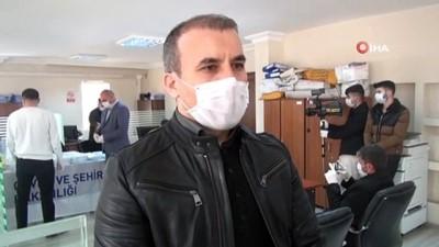 Şırnak'ta koronavirüs tedbirli TOKİ kura çekimi