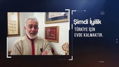 Türkiye Diyanet Vakfı gönüllüsü ünlüler koronavirüse karşı uyardı - ANKARA