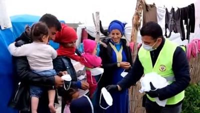Adana'da dezenfeksiyon çalışması