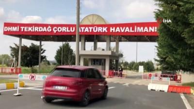 - Çorlu Atatürk Havalimanında uçuşlar durdu