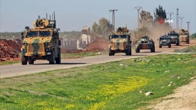 idlib -  - İdlib'de 2'nci Türk-Rus Birleşik Kara Devriyesi icra edildi