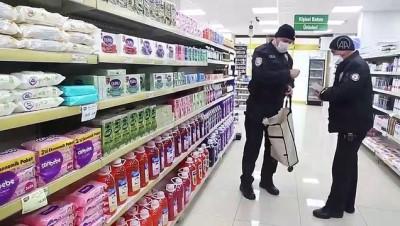 kredi karti - Kıbrıs gazisinin market alışverişini polis yaptı - MUĞLA
