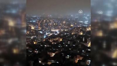Sağlık çalışanlarına havai fişekli destek - İSTANBUL