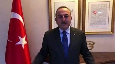 Bakan Çavuşoğlu'ndan 'Evde Kal Türkiye' çağrısına destek