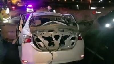LPG'li otomobilde patlama: 2 yaralı