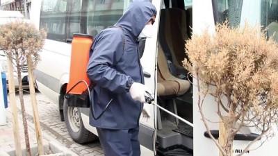 Minibüsçüler koronavirüse karşı önlemlerini artırdı - VAN