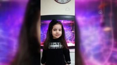 okul muduru - Minik öğrencilerden 'evde kal' çağrısına videolu destek - SİVAS