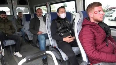 Vatandaşlara kimlik soruluyor, 65 yaş üstü minibüslere alınmıyor