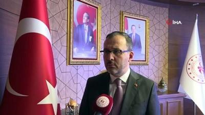 Bakan Kasapoğlu, olimpiyatların ertelenmesini değerlendirdi