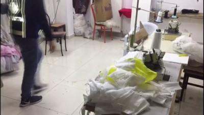 Başkentte 'kaçak maske' üretimi yapan iş yeri mühürlendi - ANKARA