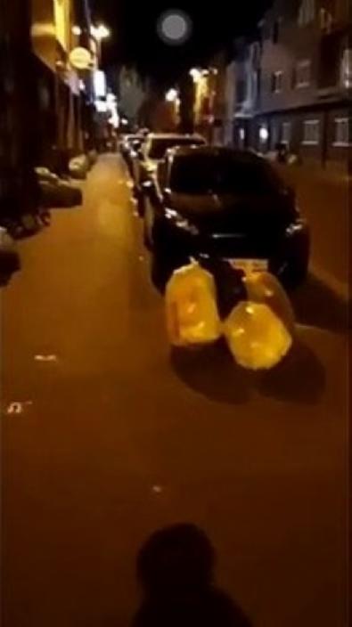 Belçika'da sokaklar çöpten geçilmiyor