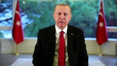 Cumhurbaşkanı Erdoğan 'Ulusa Sesleniş' konuşması yaptı