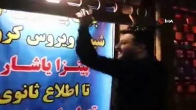- İran'da bir pizzacı, yaptığı pizzaları ücretsiz olarak sağlık çalışanlarına dağıttı
