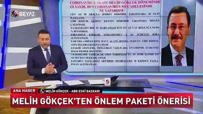 ekrem imamoglu - Melih Gökçek İmamoğlu yönetimini eleştirdi!