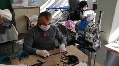 Şarkikaraağaç HEM maske üretimine başladı -  ISPARTA