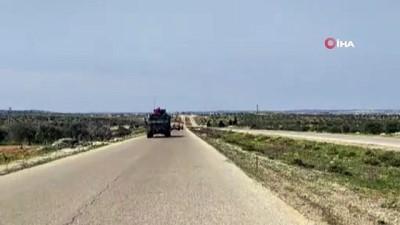 idlib -  - TSK, M4 kara yolunda devriye gerçekleştirdi