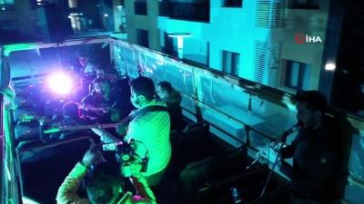 Nevşehir'de korona konserleri başladı
