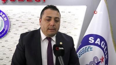 """Sağlık-Sen Eskişehir Şube Başkanı Hasan Hüseyin Köksal: """"Biz her şartta zam gelmese bile devletimizin, milletimizin hizmetine devam edeceğiz"""""""