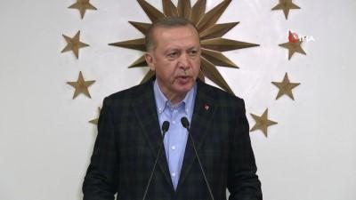 Cumhurbaşkanı Erdoğan: 'Ülkemizde de maalesef 92 can kaybı vardır'