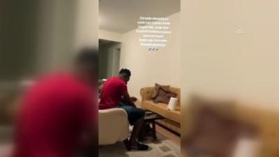 Denizlisporlu futbolcu Ogenyi Onazi'den 'evde kal' çağrısı