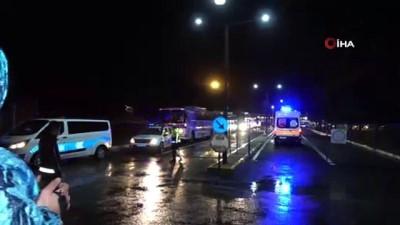 KKTC'den getirilen 130 kişi Uşak'ta karantinaya alındı