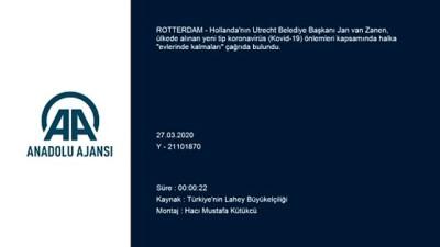 Utrecht Belediye Başkanı'ndan 'Türkçe Kovid-19' mesajı - ROTTERDAM