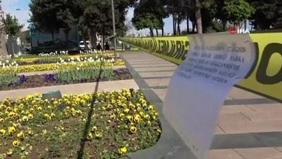 Antalya'da vatandaş park yasağına rağmen polisi bıktırdı