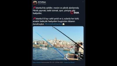 İstanbul Valisi Yerlikaya: 'Bugün 17.00 itibariyle otobüsle şehir dışına çıkışlar durdurulmuştur'