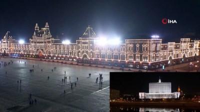- Kremlin Sarayı'nın ışıkları kapatıldı