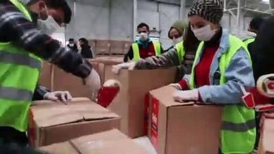 300 bin gıda kolisi, 6 hafta boyunca 65 yaş üzeri vatandaşlara dağıtılacak - İSTANBUL