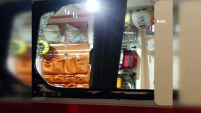 saglik gorevlisi -  İstanbul'da korona virüs vakasına giden 112 ekibi dehşeti yaşadı