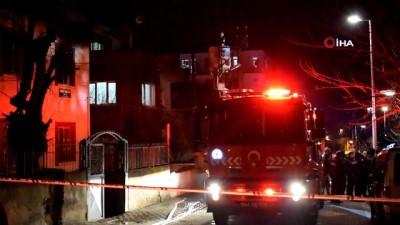 Malatya'da babasıyla tartışan şahıs oturdukları evi ateşe verdi