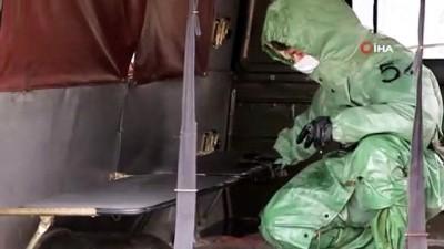 - Rus ordusundan 'korona virüsü' tatbikatları