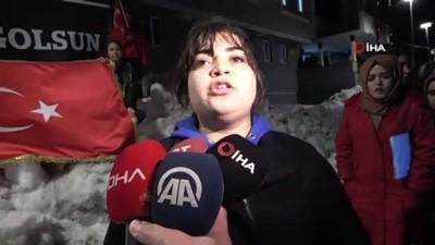 hain saldiri -  Kız yurdunun ışıkları Mehmetçik için yandı