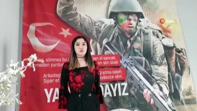 hain saldiri -  Öğrenciler Mehmetçik için seferber oldu