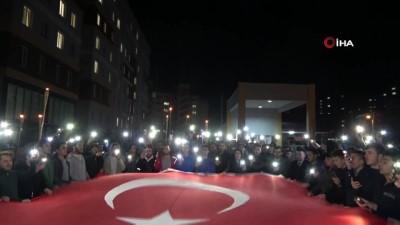 hava saldirisi -  Uşak'ta yurt ışıkları Mehmetçik için yandı
