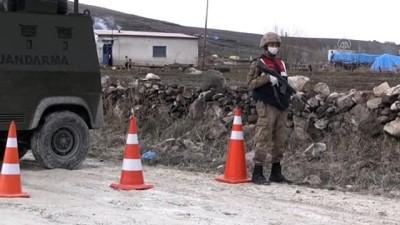 koronavirus - 3 köy ve 1 mahalle koronavirüs tedbirleri kapsamında karantinaya alındı - KARS