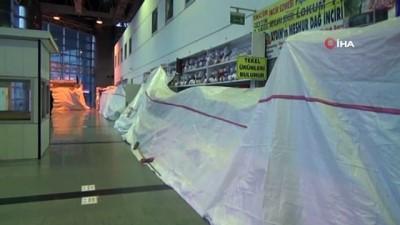 ozel guvenlik -  Aydın Otogar'da virüs sessizliği