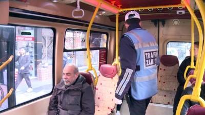 toplu tasima - Bahçelievler'de toplu taşıma araçlarına yönelik denetim yapıldı - İSTANBUL