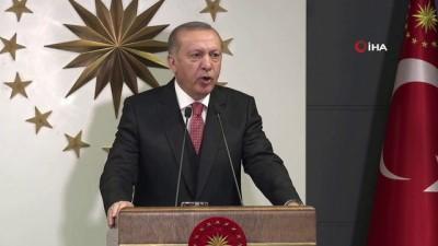 Cumhurbaşkanı Erdoğan, kabine toplantısının ardından açıklamalarda bulundu