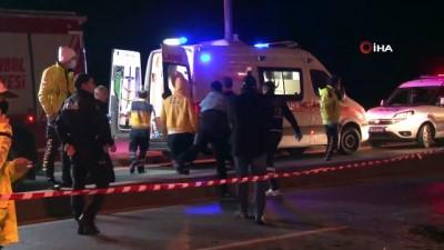 Fatih'te feci kaza: 1 ölü, 3 yaralı