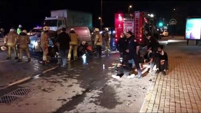 Fatih'te trafik kazası: 1 ölü, 3 yaralı - İSTANBUL