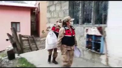uzman cavus - Mehmetçik, Kovid-19 nedeniyle evden çıkamayan yaşlı vatandaşın tarlasını sürdü - ERZURUM