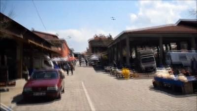 Pazara gelen vatandaşların vücut ısısı, dronla takip edildi - AYDIN
