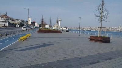 toplu tasima - Üsküdar ve Kadıköy sahili boş kaldı - İSTANBUL