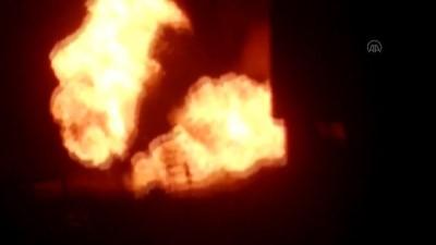 Türkiye-İran doğal gaz boru hattında patlama (2) - AĞRI