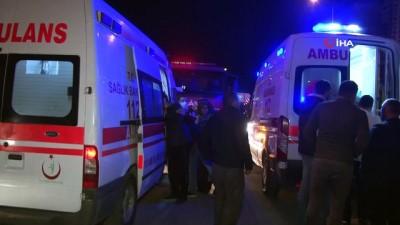 Başkent'te korkutan yangın: 5 kişi etkilendi