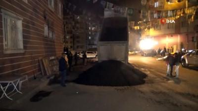 HDP önünde evlat nöbeti tutan aileler gece nöbetine başladı