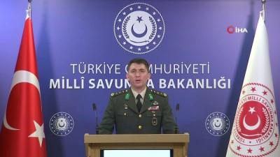 MSB: 'Rejimin açtığı ateş sonucu 2 kahraman silah arkadaşımız şehit olmuş, 6 kahraman silah arkadaşımız da yaralanmıştır'