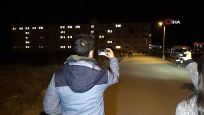 Öğrenci yurdundan TSK'ya destek
